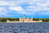 Historical Kalmar castle in Sweden Scandinavia Europe. Landmark. — Stok fotoğraf