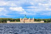 Historical Kalmar castle in Sweden Scandinavia Europe. Landmark. — Stock Photo