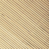 Bamboo mat surface pattern diagonal background texture — Stock Photo