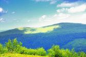 Colline montagne panorama bieszczady polonia — Foto Stock
