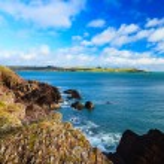Irish landscape. coastline atlantic coast County Cork, Ireland — Stock Photo #43713553