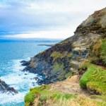 Irish landscape. coastline atlantic coast County Cork, Ireland — Stock Photo #45052031