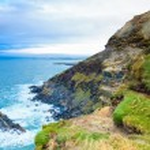 Irish landscape. coastline atlantic coast County Cork, Ireland — Stock Photo