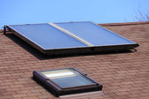 Solar panel on roof. — Stock Photo