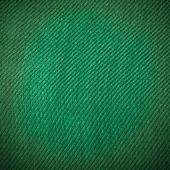 Closeup di materiale tessile di tela verde come trama o sfondo — Foto Stock