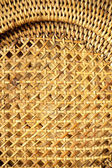 Wicker woven pattern for background or texture — Stockfoto