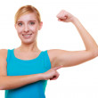 Sport woman showing her muscles. — Stock Photo #47588401