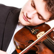 Man violinist playing violin — Stock Photo #48014913