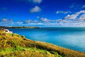 Irish landskap. kustlinje atlantkusten länet korkar, irland — Stockfoto