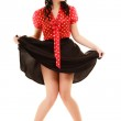 Full length of woman in pinup style — Stock Photo #49547827