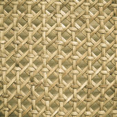 Wicker woven pattern for background or texture — Stock Photo