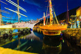Tall Ships Races in harbour — Stock Photo