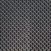 Black plastic weave as woven background — Stock Photo