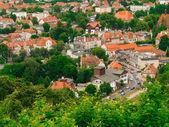 Tour des bâtiments de gdansk de district — Photo