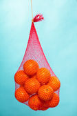 Bag of oranges — Stock Photo