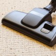 Cleaning with vacuum cleaner dirty — Stock Photo