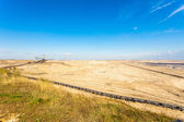 Opencast brown coal mine — Stock Photo