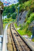Funicular Railway in Bergen — Stock Photo