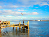 COBH, IRELAND - NOVEMBER 26 : Old Titanic pier on November 26, 2012 in Cobh Ireland — Стоковое фото