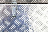 Metal industrial box crate — Stock Photo