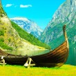 Tourism and travel. Mountains and fjord in Norway. — Stock Photo #51546945