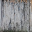 Ragged paint on wooden planks — Stock Photo