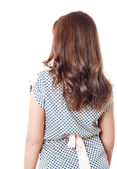 Rear view of young female — Stock Photo