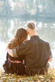 Romantic hug — Stock Photo