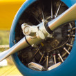 Stock Photo: Propeller plane
