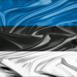 Estonia flag — Stock Photo