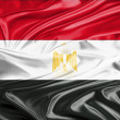 Stock Photo: Egypt Flag