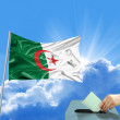 Stock Photo: Algeriflag election