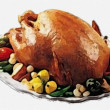 Turkey dinner for Thanksgiving Day - Stockfoto