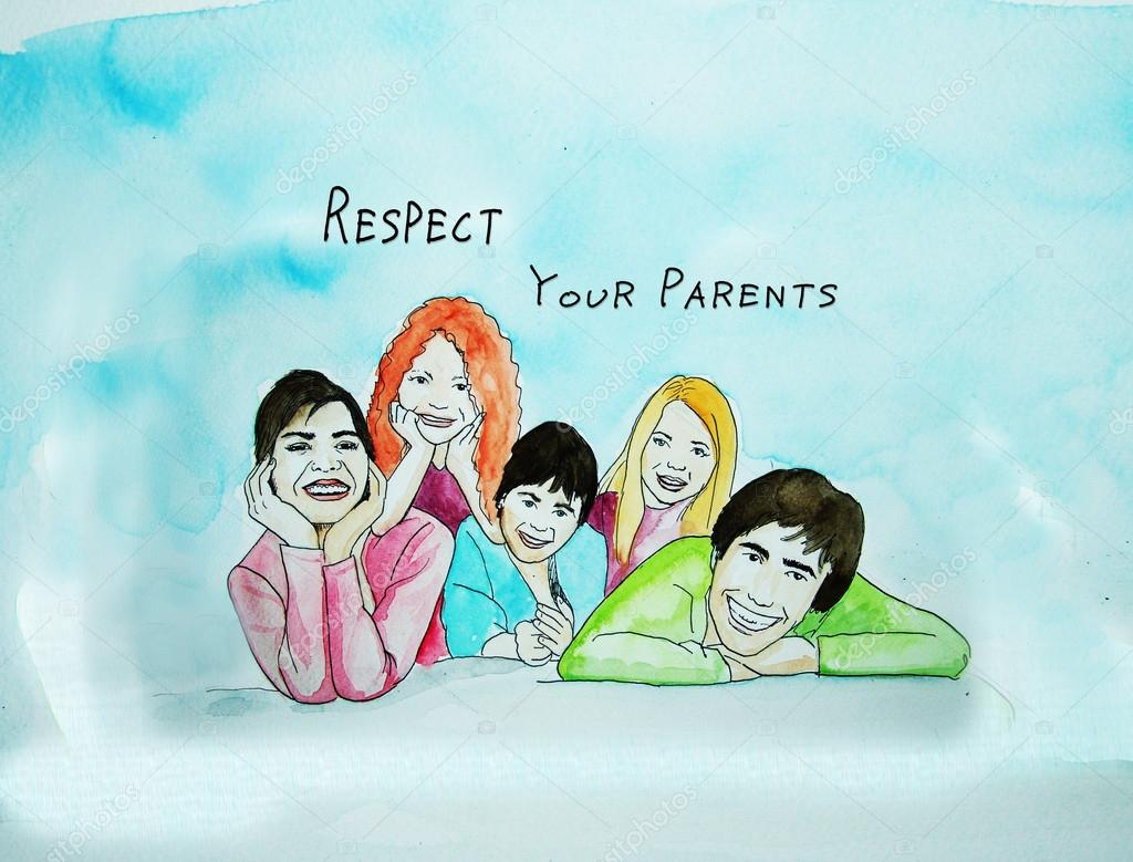 how to respect your parents essay Essay on parents the society of our human beings is really a complex system then what is the basis, or say, the smallest unit of such an unwieldy system we, as children, should not sit idle and enjoy the fruits of our parent's work, we should also give our love and respect to our parents.