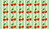 Cherry mönster — Stockvektor