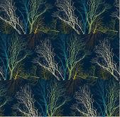 Tree_silhouette_pattern copy — Stock Vector