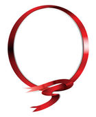 Ribbon_Ring — Stock Vector