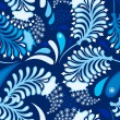 Royalty-Free Stock Vector Image: Blue Pattern