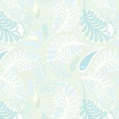 青パターン — ストックベクタ