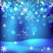 Royalty-Free Stock Immagine Vettoriale: 01_Snowflake_background