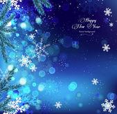 Snowflake Background — 图库矢量图片