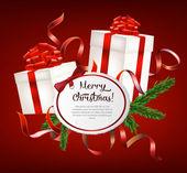 Christmas gift — Vettoriale Stock