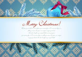 Vintage victorian ornament background — Stockvector