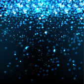01_Blue_glittering_background — Vetor de Stock