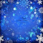 03_snowflake_background — Vector de stock