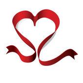 κόκκινη κορδέλα — Διανυσματικό Αρχείο