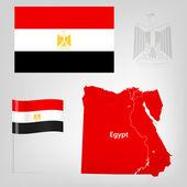 Egypt_Map — Stock Vector