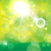 Light background-green a — Stockvector