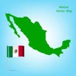 Mexico map — Stock Vector
