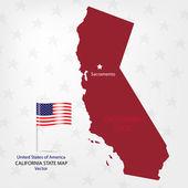 California — Stock Vector